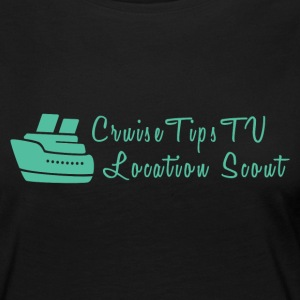Cruise Tips TV Location Scout - Women's Premium Long Sleeve T-Shirt