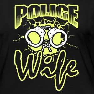 POLICE WIFE SHIRT - Women's Premium Long Sleeve T-Shirt