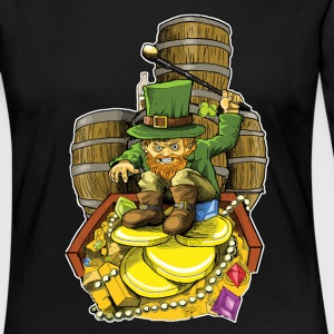 Angry Irish Leprechaun - Women's Premium Long Sleeve T-Shirt