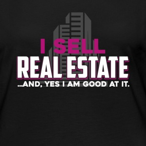 I Sell Real Estate Shirts - Women's Premium Long Sleeve T-Shirt