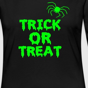 TRICK OR TREAT - Women's Premium Long Sleeve T-Shirt