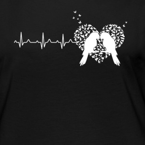 Parrot Heartbeat Shirt - Women's Premium Long Sleeve T-Shirt