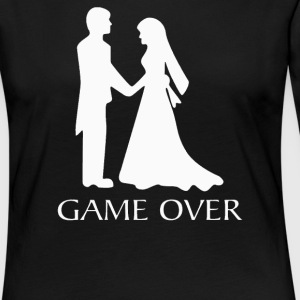 Game Over Wedding - Women's Premium Long Sleeve T-Shirt