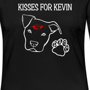 Kisses for Kevin A Paws - Women's Premium Long Sleeve T-Shirt