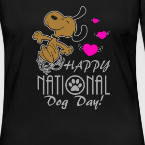 Happy National Dog Day - Women's Premium Long Sleeve T-Shirt