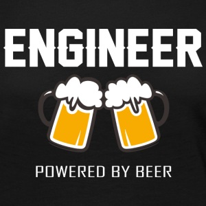 Engineer powered by beer T Shirt - Women's Premium Long Sleeve T-Shirt