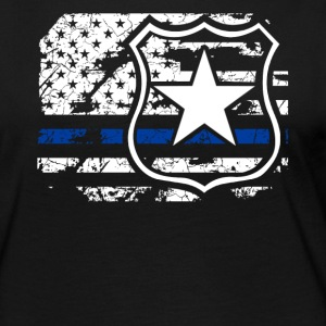 Police Flag Shirt - Women's Premium Long Sleeve T-Shirt