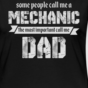The Most Important Call Me Dad T Shirt - Women's Premium Long Sleeve T-Shirt