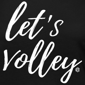 Let's Volley Volleyball Team Design - Women's Premium Long Sleeve T-Shirt