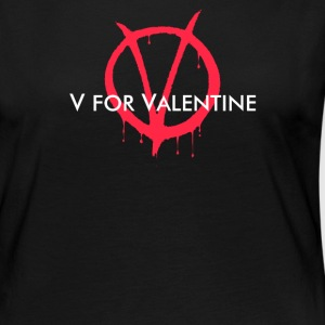 V for Valentine - Women's Premium Long Sleeve T-Shirt