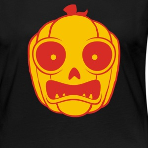 Frightened Jack O Lantern - Women's Premium Long Sleeve T-Shirt