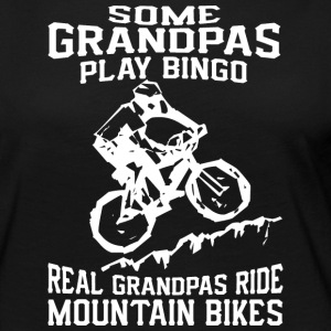 MTB Grandpa T Shirt - Women's Premium Long Sleeve T-Shirt