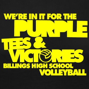 We're In It For The Purple Tees & Victories Billin - Women's Premium Long Sleeve T-Shirt