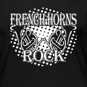 FRENCH HORNS SHIRT - Women's Premium Long Sleeve T-Shirt