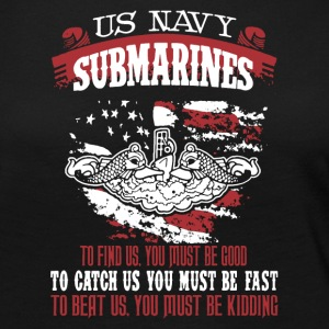 US Navy Submarine Shirt - Women's Premium Long Sleeve T-Shirt