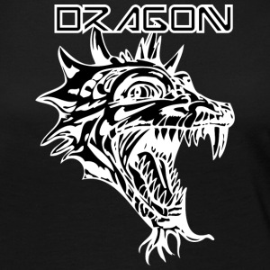 dragon_with_beard_black - Women's Premium Long Sleeve T-Shirt