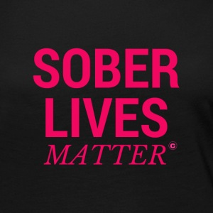 Sober Lives Matter Recovery T-Shirt - Women's Premium Long Sleeve T-Shirt