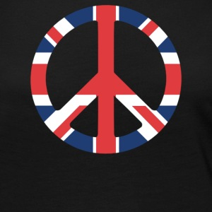 United Kingdom Peace Sign - Women's Premium Long Sleeve T-Shirt