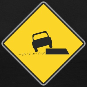 Road_Sign_car_on_board - Women's Premium Long Sleeve T-Shirt