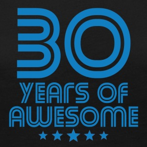 30 Years Of Awesome 30th Birthday - Women's Premium Long Sleeve T-Shirt