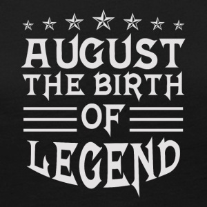 August The Birth of Legend - Women's Premium Long Sleeve T-Shirt