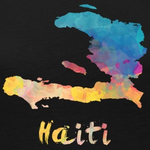 Haitian Watercolor Country - Women's Premium Long Sleeve T-Shirt