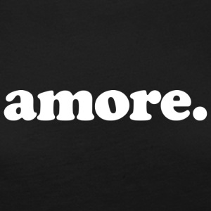 Amore - Fun Design (White Letters) - Women's Premium Long Sleeve T-Shirt