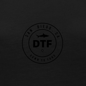 DTF, or DOWN TO FUND - Women's Premium Long Sleeve T-Shirt