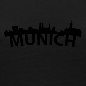 Arc Skyline Of Munich Germany - Women's Premium Long Sleeve T-Shirt