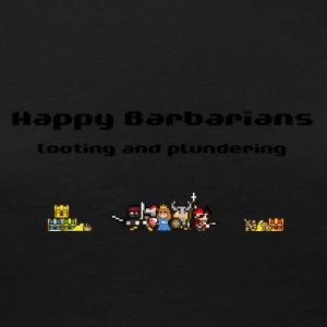 Happy Barbarians - Looting and Plundering - Women's Premium Long Sleeve T-Shirt