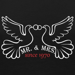 Mr And Mrs Since 1970 Married Marriage Engagement - Women's Premium Long Sleeve T-Shirt