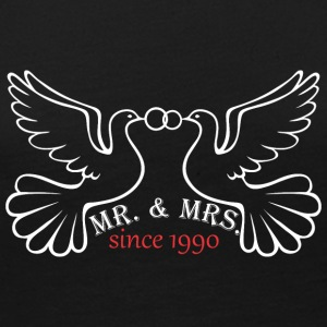Mr And Mrs Since 1990 Married Marriage Engagement - Women's Premium Long Sleeve T-Shirt