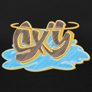 sky_graffiti_blue_ - Women's Premium Long Sleeve T-Shirt