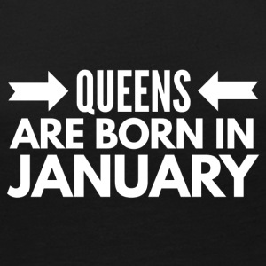 Queens Born January - Women's Premium Long Sleeve T-Shirt