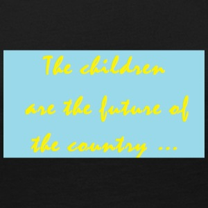 slogan about children - Women's Premium Long Sleeve T-Shirt