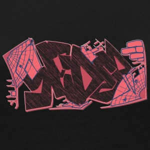 spider_graffiti_red - Women's Premium Long Sleeve T-Shirt