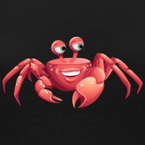 cool smile crab shell sea ocean wildlife - Women's Premium Long Sleeve T-Shirt