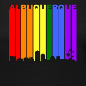 Albuquerque New Mexico Rainbow LGBT Gay Pride - Women's Premium Long Sleeve T-Shirt