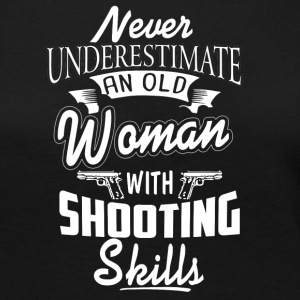 Woman With Shooting Skills T Shirt - Women's Premium Long Sleeve T-Shirt