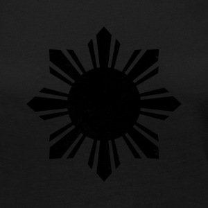 Black Flag Philippines Sun - Women's Premium Long Sleeve T-Shirt
