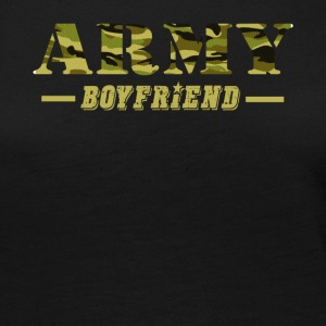 Army Boyfriend - Proud Army Boyfriend T-Shirt - Women's Premium Long Sleeve T-Shirt