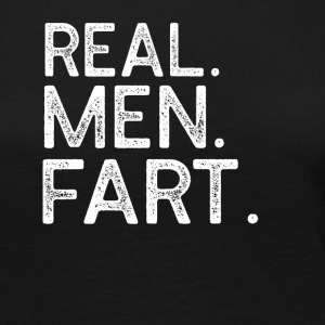 Real Men Fart T-Shirt - Women's Premium Long Sleeve T-Shirt