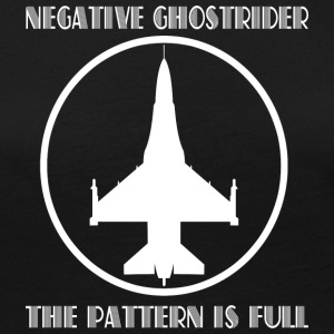 Negative ghostrider the pattern is full - Women's Premium Long Sleeve T-Shirt