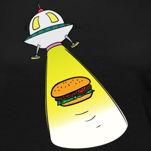 Out Of This World Burger - Women's Premium Long Sleeve T-Shirt