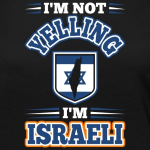 Im Not Yelling Im Israeli - Women's Premium Long Sleeve T-Shirt