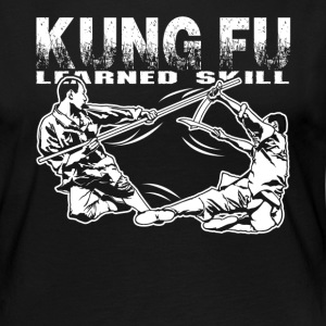 KUNGFU LEARNED SKILL SHIRT - Women's Premium Long Sleeve T-Shirt