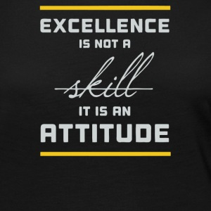 Ekcelence is not a skill it is an attitude - Women's Premium Long Sleeve T-Shirt