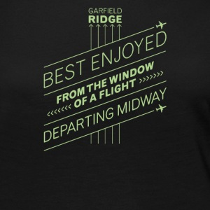 Best enjoyed from the window of a flight departing - Women's Premium Long Sleeve T-Shirt