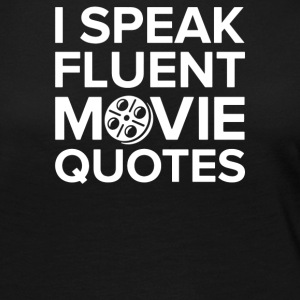 I Speak Movie - Women's Premium Long Sleeve T-Shirt