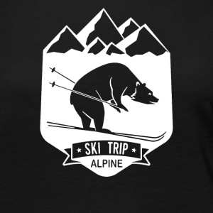 Bear Ski Trip Skiing - Women's Premium Long Sleeve T-Shirt